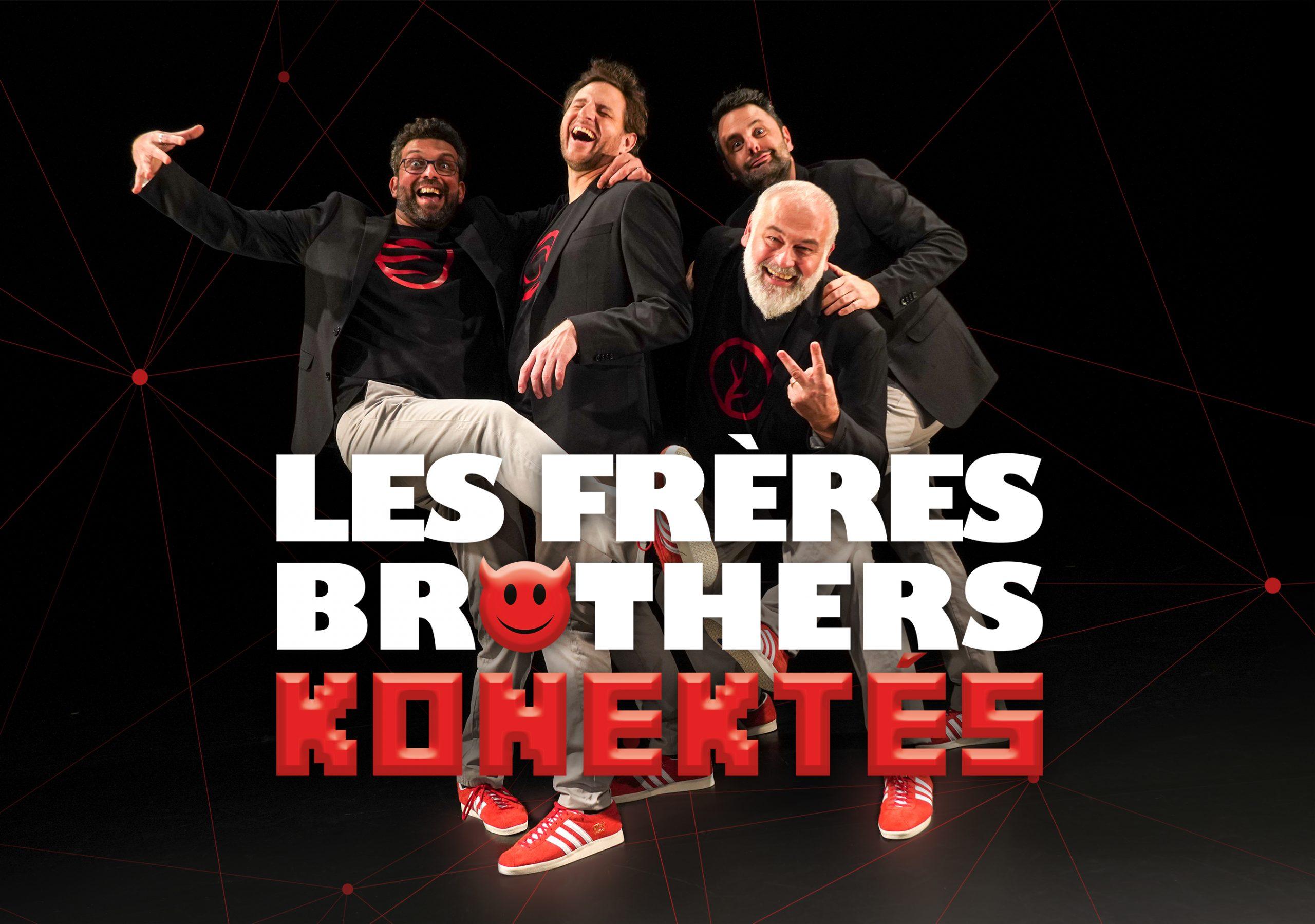 Les Frères Brothers - 2 avec logo